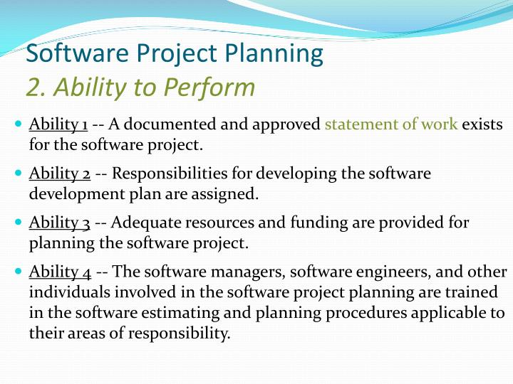 Software Project Planning