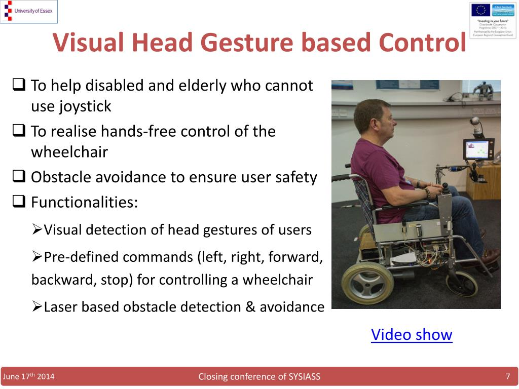 PPT - Multimodal Bio-signal based Control of Intelligent Wheelchair