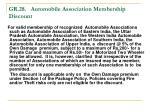 gr 28 automobile association membership discount