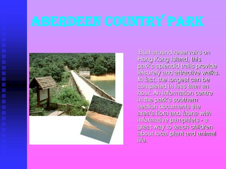 Aberdeen country park
