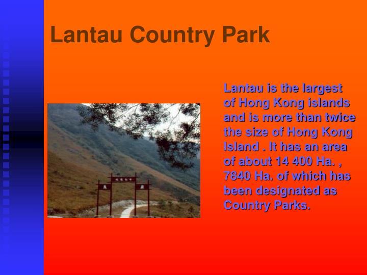 Lantau Country Park