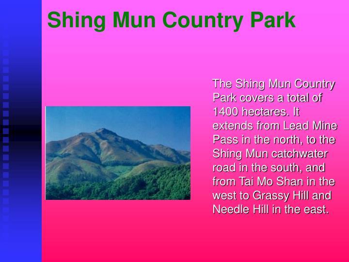 Shing Mun Country Park
