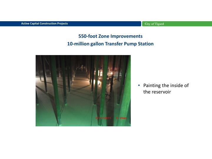 550-foot Zone Improvements