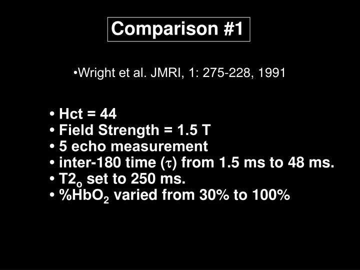 Comparison #1