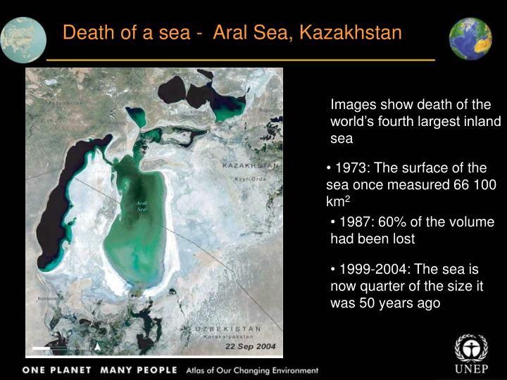 Death of a sea -