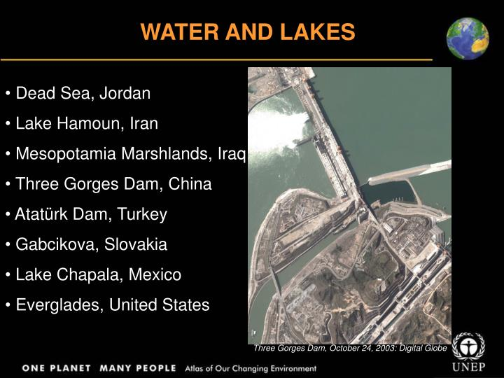 WATER AND LAKES