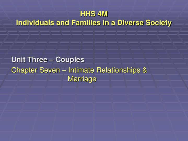 hhs 4m individuals and families in a diverse society n.