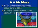 a air mass