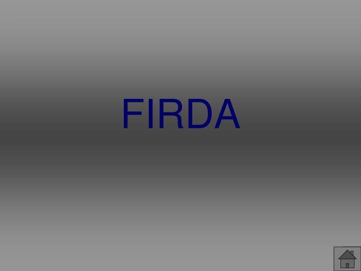 FIRDA