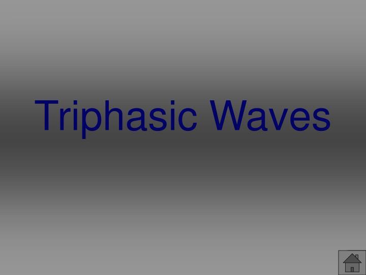 Triphasic Waves