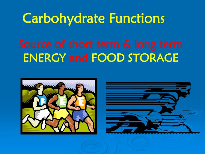 Carbohydrate Functions
