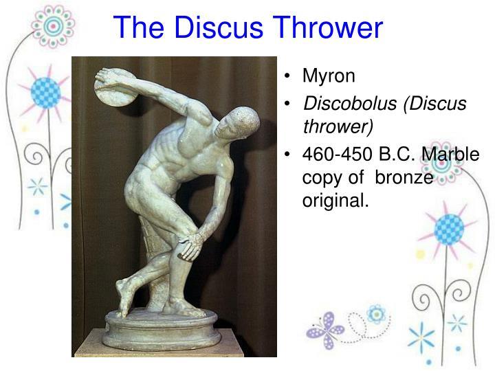 myron discobolus