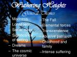 wuthering heights general themes