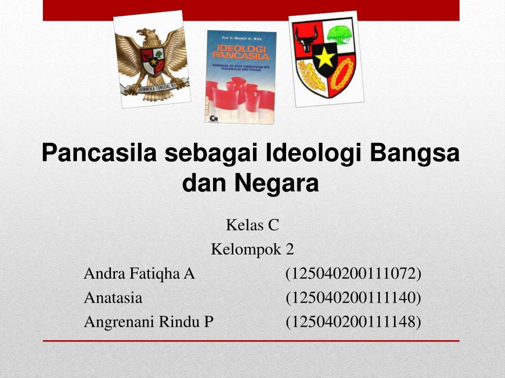 Ppt Pancasila Sebagai Ideologi Bangsa Dan Negara Powerpoint Presentation Id 6091955