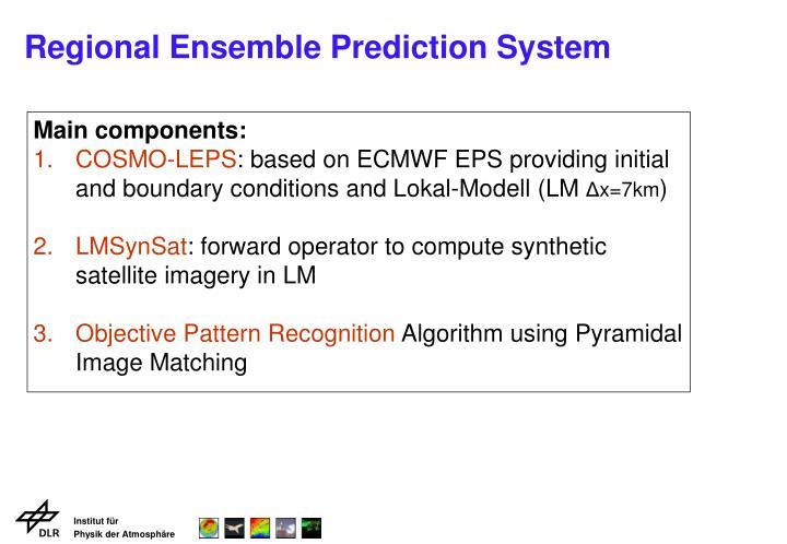 Regional ensemble prediction system1