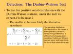 detection the durbin watson test1