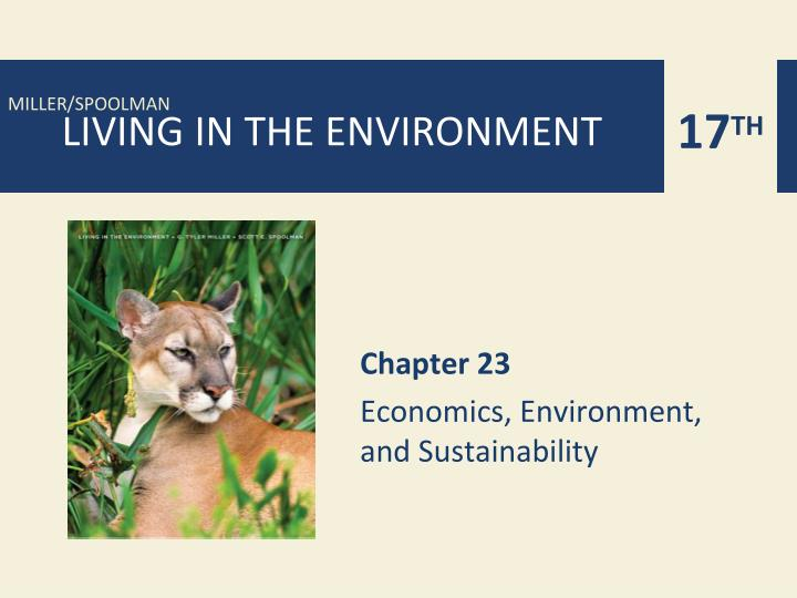 chapter 23 economics environment and sustainability n.