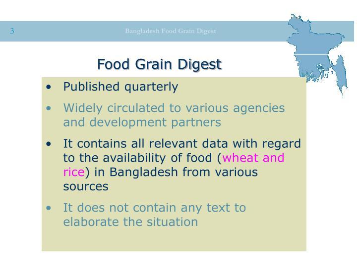 Food Grain Digest