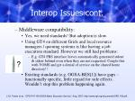 interop issues cont2