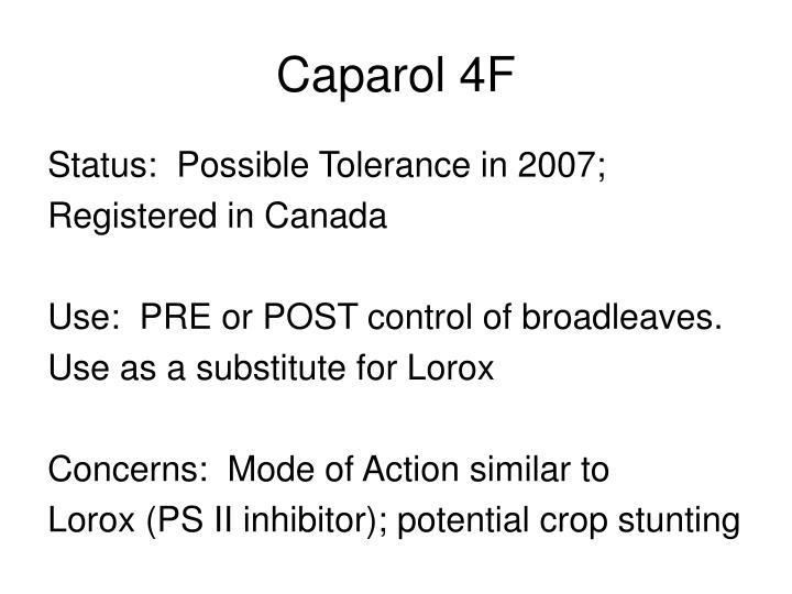 Caparol 4F