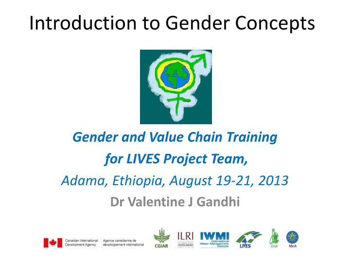 PPT - Introduction to Gender Concepts PowerPoint
