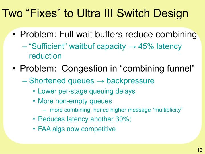"Two ""Fixes"" to Ultra III Switch Design"