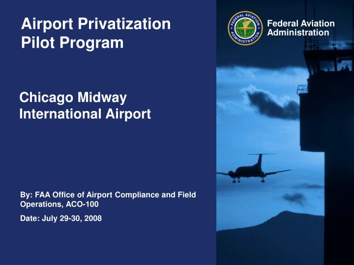 the privatization of airports in the united states Airport privatization: almost all commercial service airports in the united states are owned by local and state government.