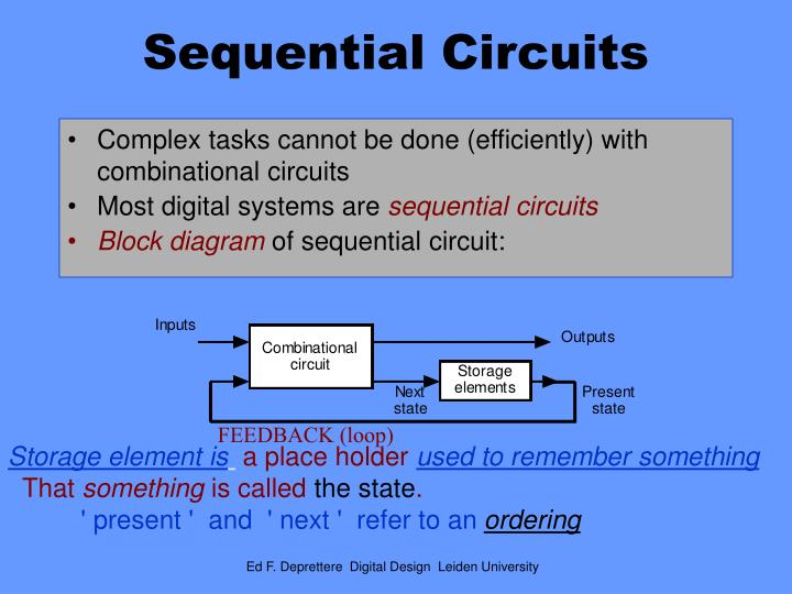 Ppt Sequential Circuits Powerpoint Presentation Id6093189
