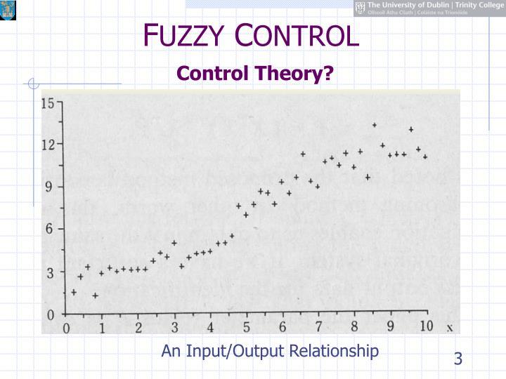 F uzzy c ontrol control theory1