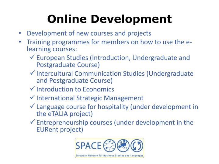 Online Development