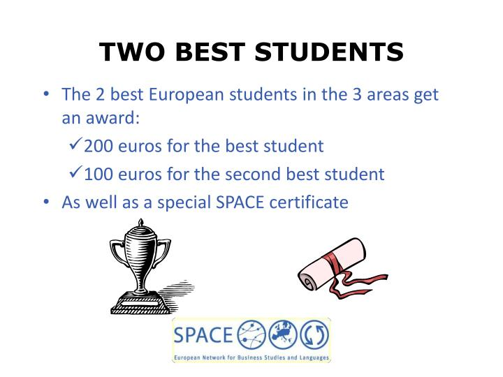 TWO BEST STUDENTS