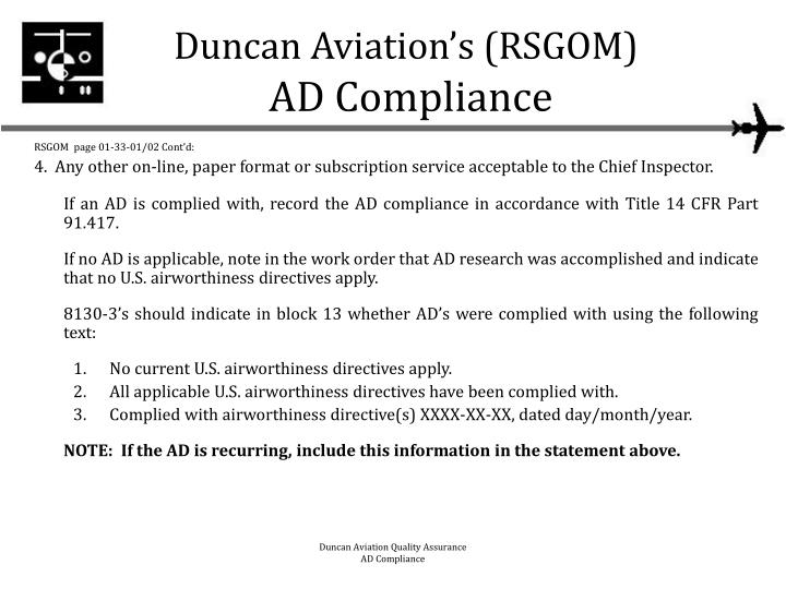 airworthiness directive research