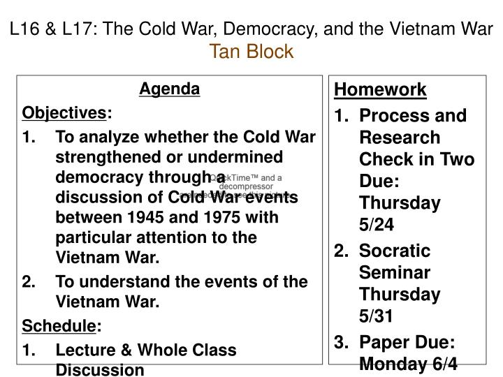 coldwar research papers Writing about the vietnam war read this sample research paper on the vietnam war and how johnson made a bad decision during his presidency.
