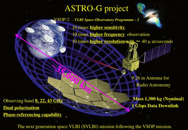 astro g project vsop 2 vlbi space observatory programme 2 n.