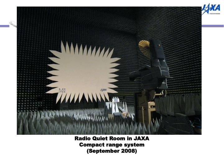 Radio Quiet Room in JAXA