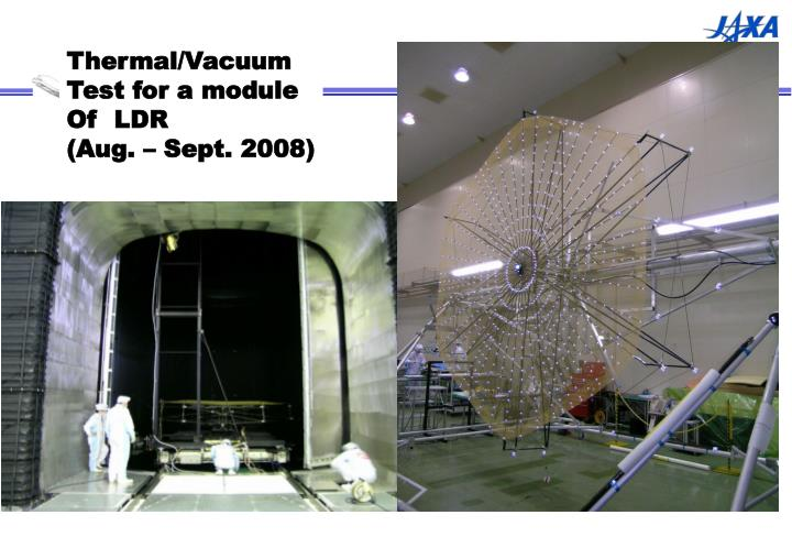 Thermal/Vacuum