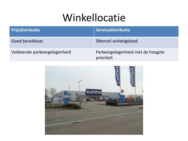 Winkellocatie