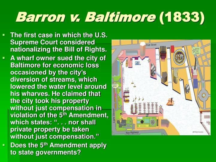 Barron v. Baltimore