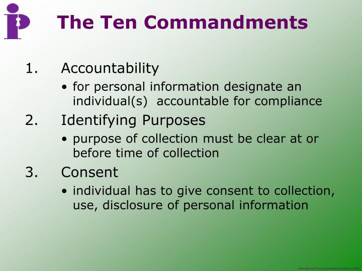 1.Accountability