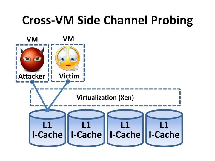 Cross-VM Side Channel Probing
