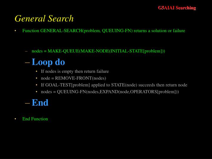 General Search