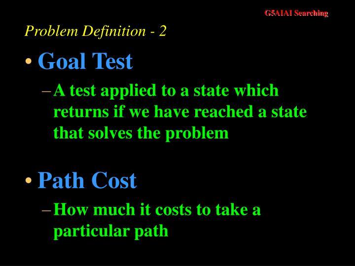 Problem Definition - 2
