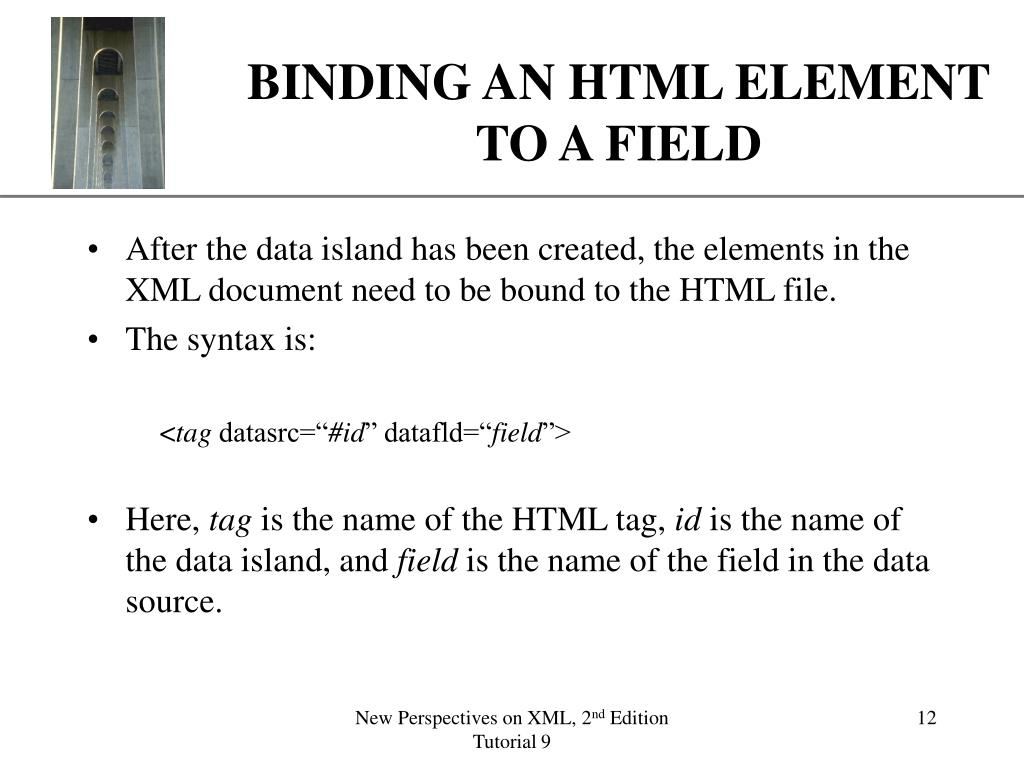 PPT - USING XML AS A DATA SOURCE PowerPoint Presentation - ID:6094355