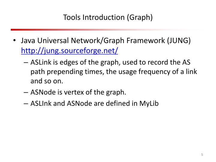 Tools Introduction (Graph)