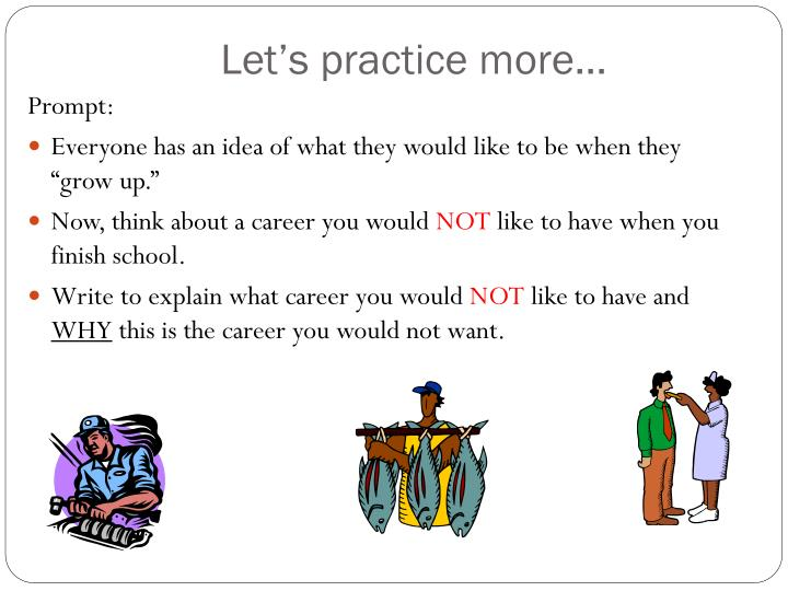 Let's practice more…