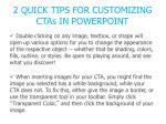 2 quick tips for customizing ctas in powerpoint