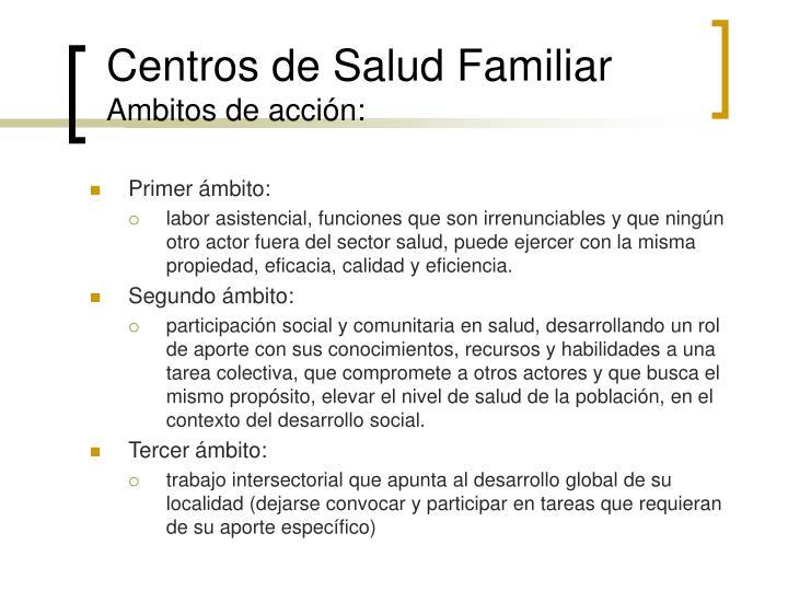 Centros de Salud Familiar