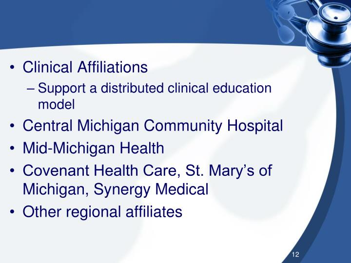 Clinical Affiliations