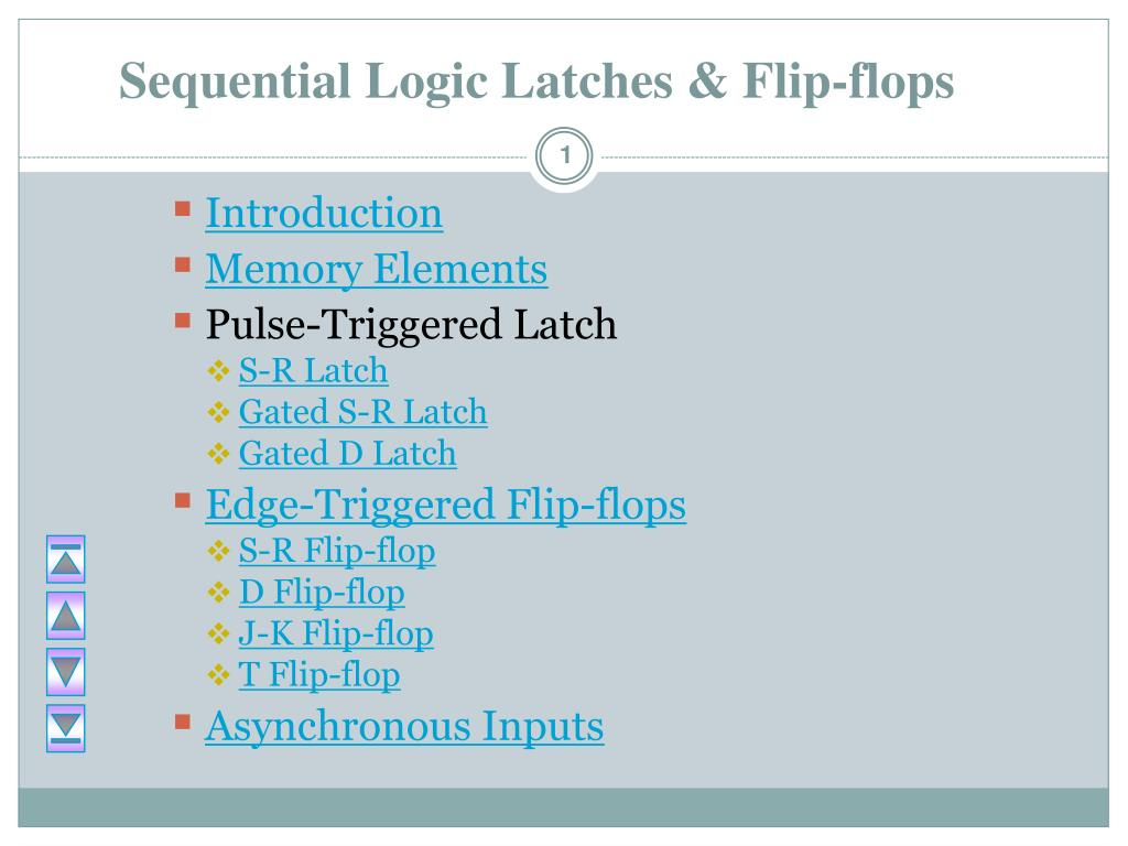 Ppt Sequential Logic Latches Flip Flops Powerpoint Presentation And Diagram For The Conversion Of Sr Flop To Jk N