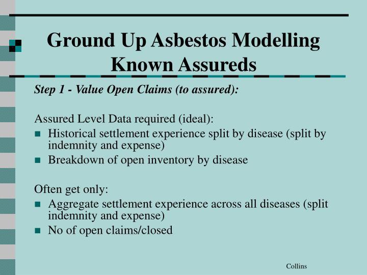 Ground Up Asbestos Modelling